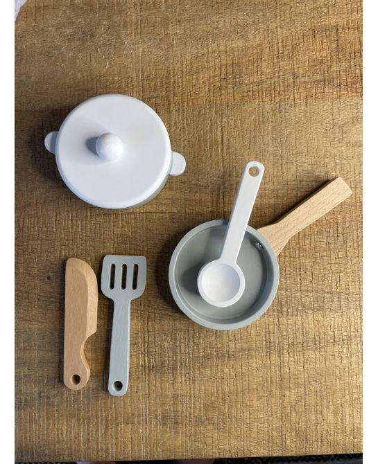 Service Cuisine en bois Bloogminvillemini - MerciBaby - MerciChéri