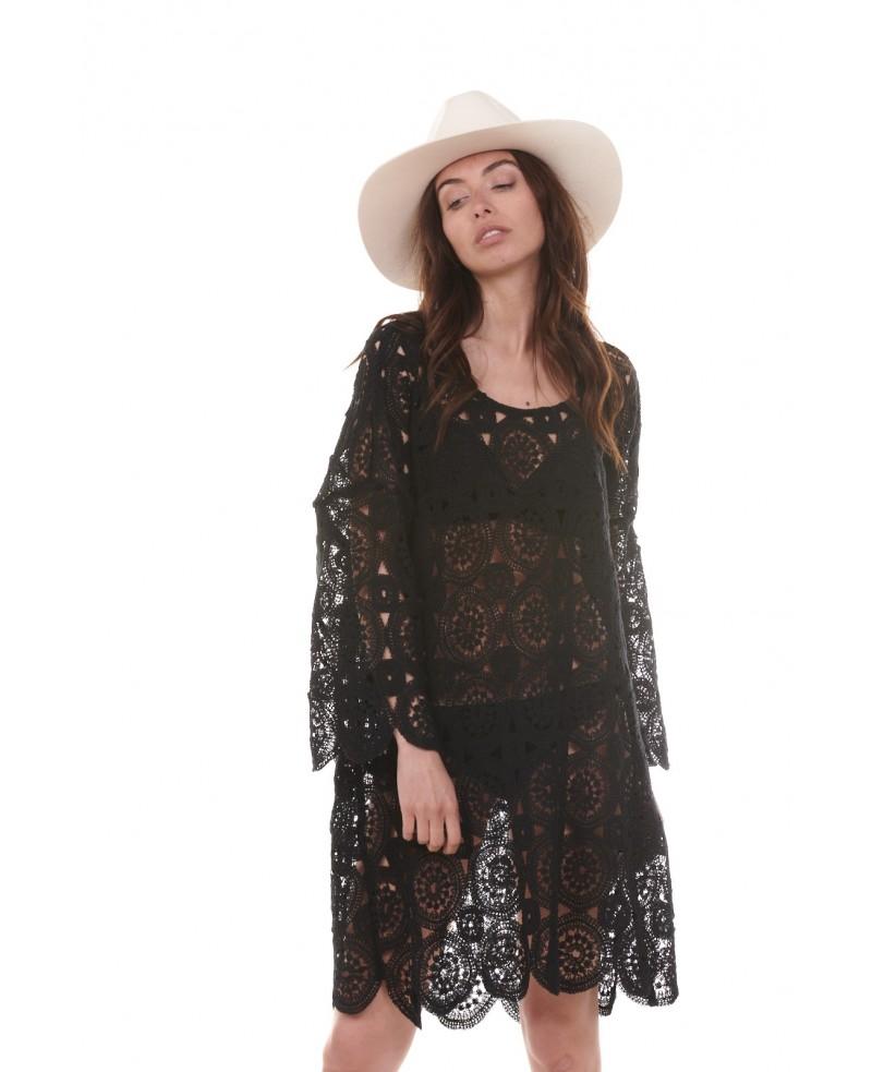 Robe Summer Noire Chantal B-MerciChéri