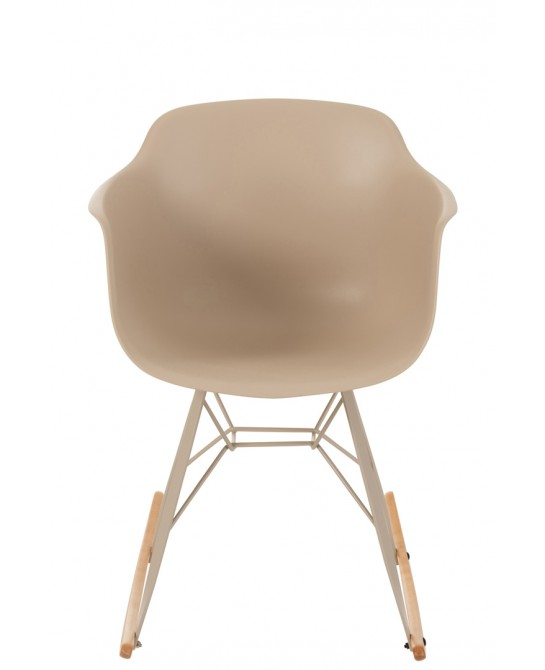 CHAISE WILLY A BASCULE PP BEIGE